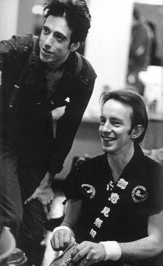 Mick Jones and Topper Headon