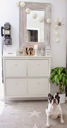 OMG, the PHONE!!! Simple Details: ikea hemnes cabinet