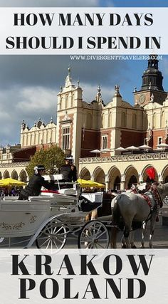 How many days should I spend in Krakow Poland? If you're planning on heading to this historic city, here's a 3 day blueprint to help you hit the ground running without missing any of the best that Krakow has to offer. Click to read 3 Day Krakow Itinerary – Things to Do in Krakow #Krakow #Itinerary #Travel #Poland