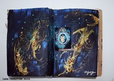 See the stars - Art journal