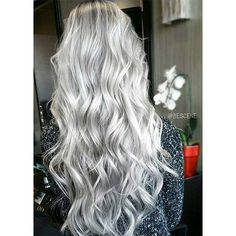 85 Silver Hair Color Ideas and Tips for Dyeing, Maintaining Your Grey... ❤ liked on Polyvore featuring hair
