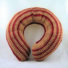 Crocheted Neck Pillow