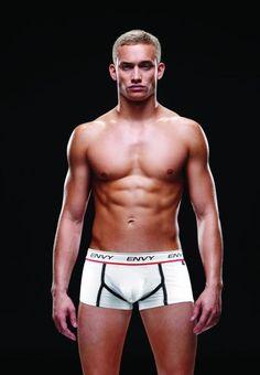 Mens Underwear Sexy Envy Logo Elastic Low Rise Trunks White L/XL #Baci #BoxerBrief