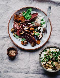 potato salad - the healthy & glamorous one ✨ Potato Salad, Potatoes, Photo And Video, Healthy, Ethnic Recipes, Instagram, Food, Fresh, Eten