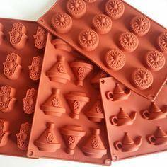 Moule en Silicone Forme Théière Cupcake pour Décoration Gâteau Fondant DIY