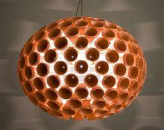 Terra Cotta Pot Light