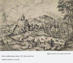 Mercury lulling Argus to sleep (About 1551 - before 1558)