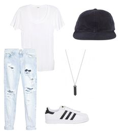 """simple, casual"" by izzyheuer ❤ liked on Polyvore"