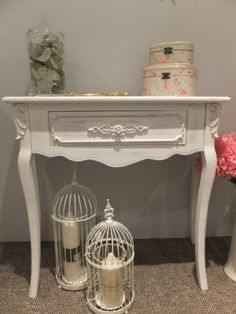 AMELIE HALLWAY / CONSOLE / DRESSING TABLE (SHABBY CHIC)