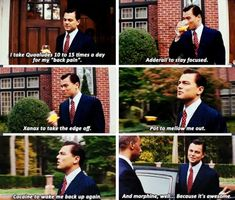 Wolf of Wall Street. Funniest film in a long time. Not exactly politically correct but hilarious with a serious message underlying all the clowning.