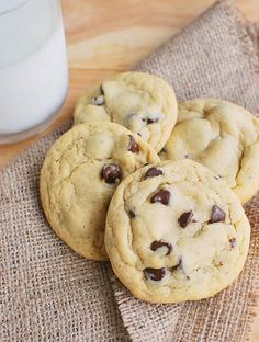Chocolate Chip Pudding Cookies - my favorite chocolate chip cookie recipe!