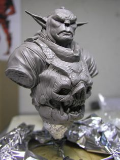 Concept Modeling For Easy Clay Sculptures: – Picture : – Description The Mongorc – Original Character Design – Statue Forum -Read More – Easy Clay Sculptures, Sculpture Clay, Marvel Anime, Statues, Character Art, Character Design, Traditional Sculptures, Found Art, Ex Machina
