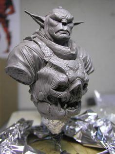 The Mongorc - Original Character Design - Statue Forum