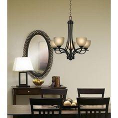 Franklin Iron Works Bennington Collection - chandelier