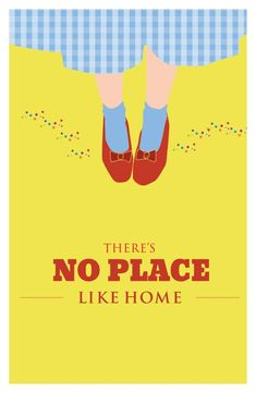 "Inspirational quote print, ""There's No Place Like Home"" Classic Movie Poster, quote poster, Retro poster pop art, Poster – zitieren Home Movie Quotes, Favorite Movie Quotes, Famous Movie Quotes, Film Quotes, Book Quotes, Famous Movie Posters, Cinema Posters, Funny Quotes, Quote Posters"
