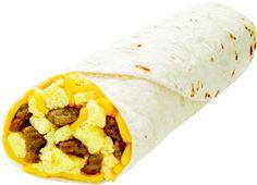 Sausage Egg Burrito
