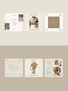 Minimal Graphic Design, Graphic Design Inspiration, Social Media Template, Social Media Design, Instagram Feed Planner, Instagram Post Template, Clothing Stores, Alter, Web Design