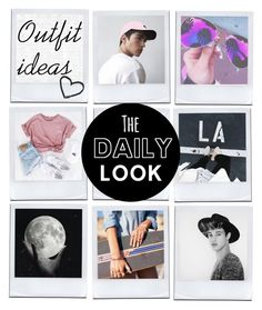"""""""Outfit ideas"""" by hola-hi ❤ liked on Polyvore featuring art, outfitideas, polaroids, CameronDallas and manurios"""