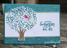 Stampin up, Blatt und Blüte, Wald der Worte, Thoughtful Branches, Blühende Fantasie, Blooms & Bliss