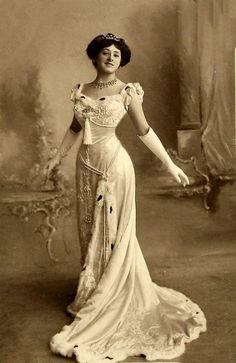 antique-royals: Miss Isabel Jay