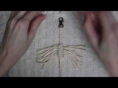 Macrame feathers - YouTube
