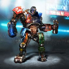 Designing a World of Robot Fighters: the Concept Art of Real Steel