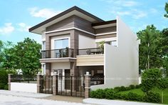 Mateo - Four Bedroom Two story House Plan - Pinoy House Plans Two Story House Design, 2 Storey House Design, Two Story House Plans, Two Storey House, Ranch House Plans, New House Plans, Online Architecture, Architecture Magazines, Home Design Plans