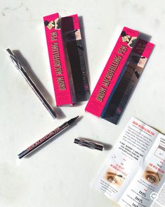 Microblading in the palm of your hands!! DIY brows just got even better thanks to you Benefit!!