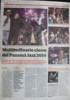 Cierre del Panama Jazz Festival: Luci & The Soul Brokers como artista invitado al cierre con más de 19k asistentes - El Panamá América.