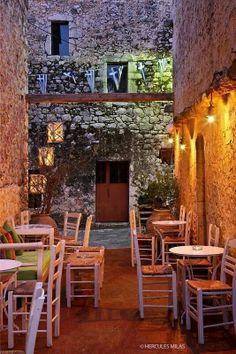 Tavern in Aeropolis,Mani,Lakonia