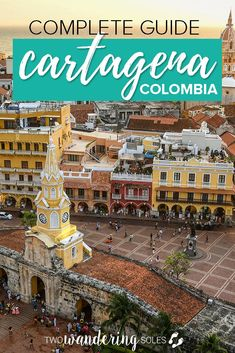 Complete Guide to Things to do in Cartagena Colombia. From the old city to day trips to where to stay to what to eat we have everything you need to know about this lively Caribbean city! South America Destinations, South America Travel, Travel Destinations, Backpacking South America, Machu Picchu, Bolivia, Chile, Colombia Travel, Equador