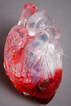 """The artist and photographer Francis Baker decided to use the heart as a central theme in their photos in the series called """"The Heart Itself"""". Hearts are produced with different materials and in different situations, representing emotions quite different. One of the most impressive is the heart as Molotov cocktail, made of resin and metal."""