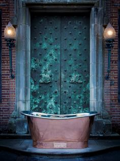 The Copper Bateau with Nickel Interior part of the NEW collection of Copper and Nickel bateau baths in a variety of optional finishes will be launched at Catchpole and Rye's London Showroom during the London Design Festival Week 2015 #bathroom #design