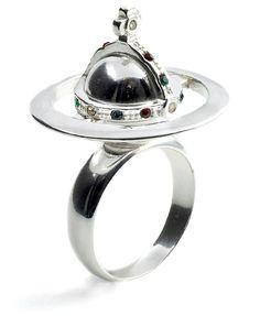 Vivienne Westwood Orb Poison Ring