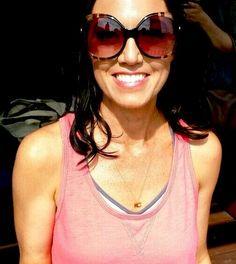 Summertime and the Janesko KC necklace. #janesko #jewelry #travel #kc #madeintheusa #sterling #modern