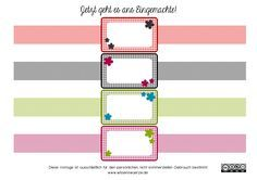 Printable Labels, Free Printables, Watermelon Background, Diy Papier, Planner Organization, Printing Labels, Free Stickers, Baby Prints, Planner Stickers