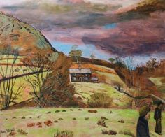 Carel Weight RA, CBE - Stormy Day, North Wales is available for sale at Castlegate House Gallery. Tate Gallery, Live In The Present, Royal College Of Art, Rome Travel, North Wales, Paintings For Sale, Landscape Art, Painting Inspiration, Illustration Art
