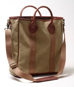 Waxed Twill Tote from L.L.Bean Signature on Catalog Spree