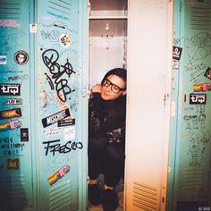 Hey! I can fit in lockers too! #shortandskinnybuddies