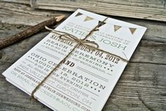 Hey, I found this really awesome Etsy listing at https://www.etsy.com/listing/102827322/wedding-invitation-rustic-flag-banner