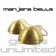 Tuned Manjera Bells  - Various Notes