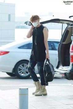 150822 #인피니트 Sunggyu - Incheon International Airport