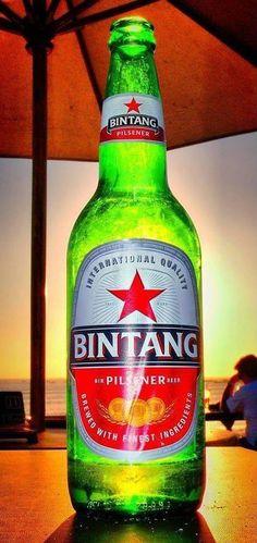 Bintang - my favourite beer! Jl Sahadewa Gg I/1 Legian in Kuta, Bali