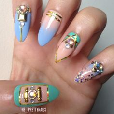 68 Best Nail Art Ideas Geometric And Artsy Designs Images On