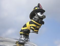 fire truck hood orna
