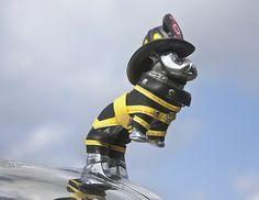 fire truck hood ornament by Muffet, via Flickr