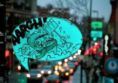 Comic Book Street Lamps by Turn Me On Design   Inspiration Grid   Design Inspiration