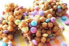 Chocolate Peanut Butter Treats: made with Peanut Butter Cap 'n Crunch.