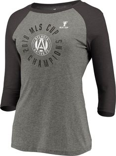 Fanatics Branded Atlanta United FC Red 2018 MLS Cup Champions Local T-Shirt