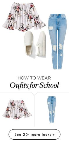"""""""School Day"""" by mrsbieber123-396 on Polyvore featuring Gap"""